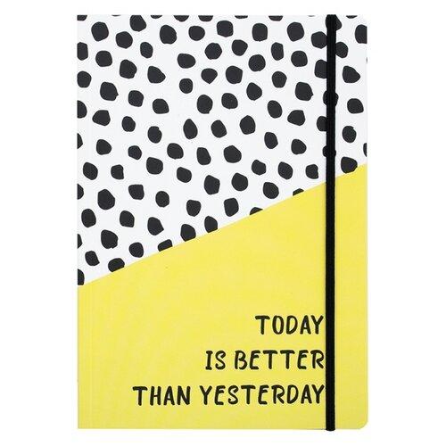 Купить Ежедневник Sammy ICON Today Is Better Than Yesterday недатированный, 104 листов, фисташковый, Ежедневники, записные книжки