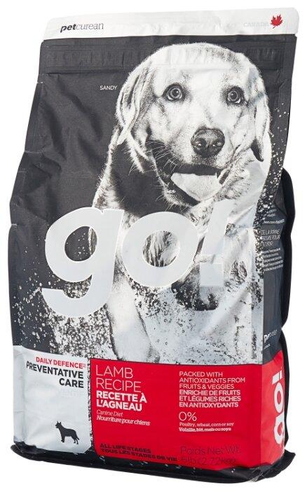 Корм для собак GO! Daily Defence ягненок 2.72 кг