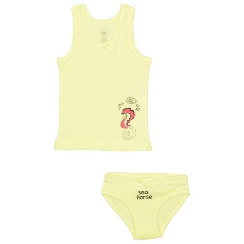 Купить Комплект нижнего белья RuZ Kids размер 116-122, желтый, Белье и купальники