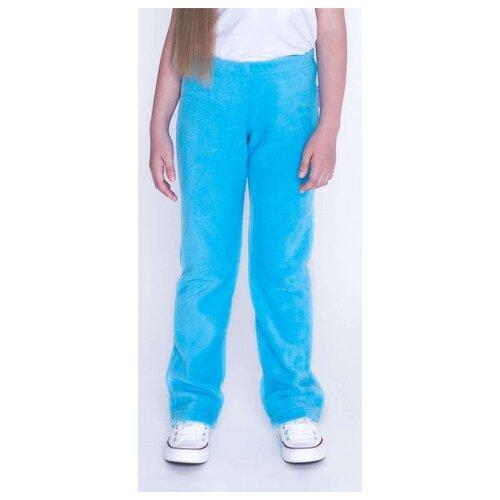 Брюки Кофтёныши размер 122, небесно-голубой брюки coccodrillo размер 122 голубой