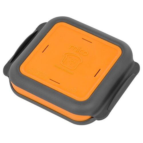 Гриль-бокс для СВЧ Morphy Richards Mico Toast 511647 оранжевый/серый
