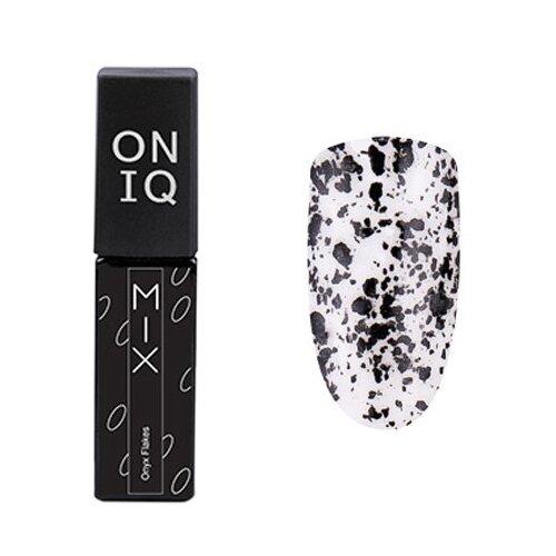Гель-лак для ногтей ONIQ MIX, 6 мл, оттенок 099S Onyx Flakes гель лак для ногтей oniq mix 6 мл оттенок 104s green and pink yuki flakes