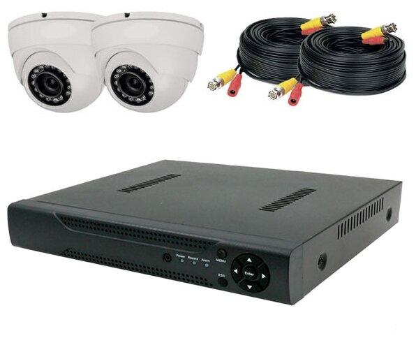 Комплект видеонаблюдения PS-Link KIT-A202HD 2 камеры