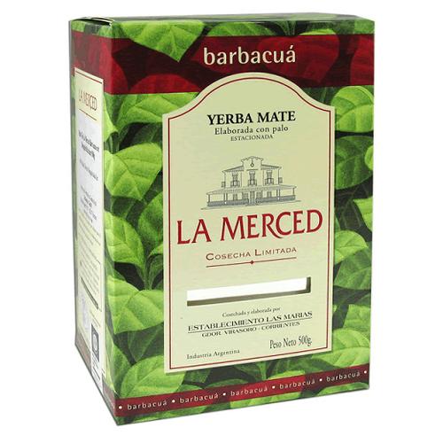 Чай травяной La Merced Yerba mate Barbacua, 500 г чай мате yerba mate playadito листовой 1000 г