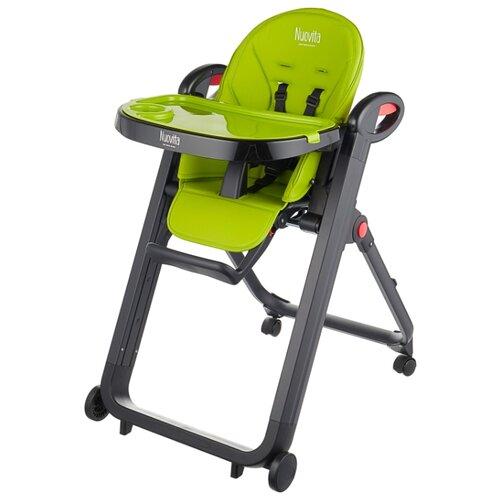 Растущий стульчик Nuovita Futuro verde nero