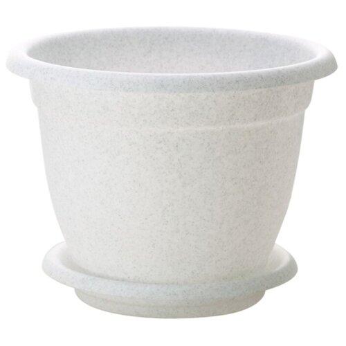 Горшок InGreen Борнео ING41020, 24х19 см мраморный