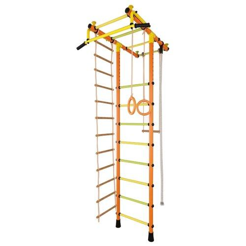 Купить Шведская стенка TMK PRO Маугли 02 М оранжевый, Игровые и спортивные комплексы и горки