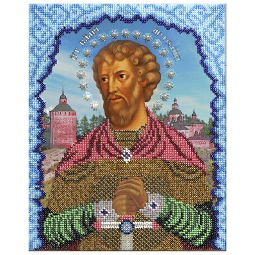 Купить Вышиваем бисером Набор для вышивания бисером Святой Артем 19 х 25 см (L-86), Наборы для вышивания
