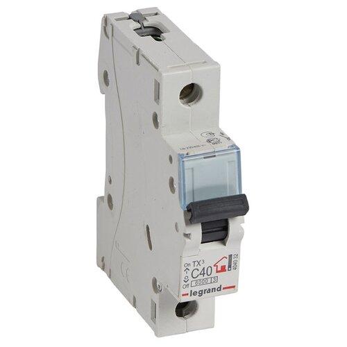 Автоматический выключатель Legrand TX3 1P (C) 6kA 40 А недорого