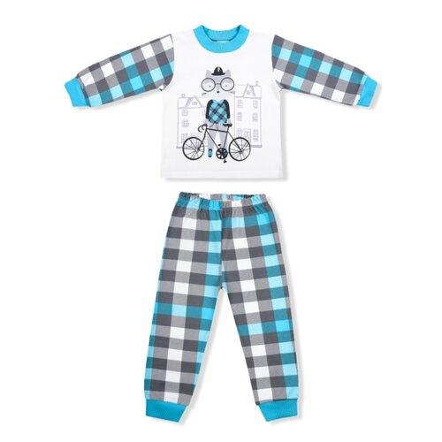 Купить Пижама LEO размер 92, голубой, Домашняя одежда