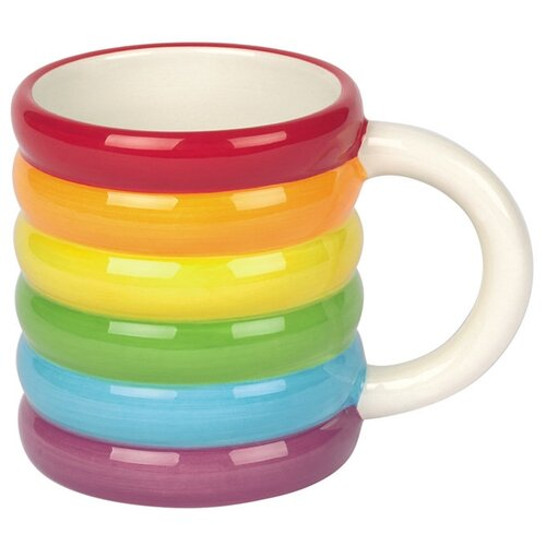 Doiy Кружка Rainbow радуга