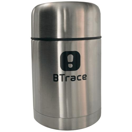 Термос для еды Btrace 206-750, 0.75 л серебристый