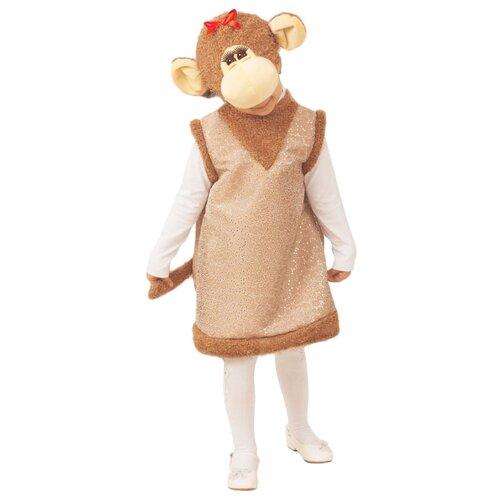 Купить Костюм Батик Обезьянка Дафна (336), коричневый, размер 104-110, Карнавальные костюмы