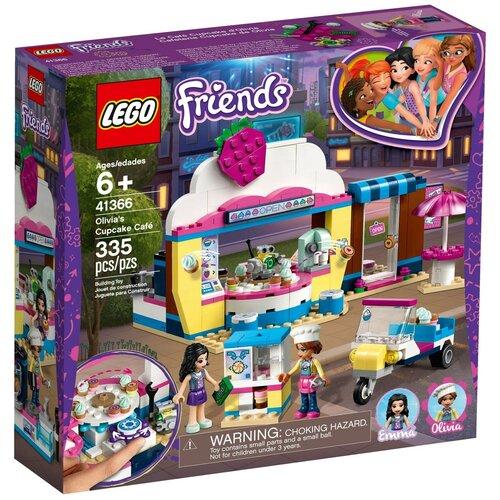 Купить Конструктор LEGO Friends 41366 Кондитерская Оливии, Конструкторы