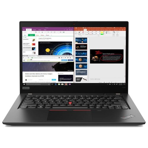 Купить Ноутбук Lenovo ThinkPad X395 (AMD Ryzen 5 PRO 3500U 2100MHz/13.3 /1920x1080/8GB/256GB SSD/DVD нет/AMD Radeon Vega 8/Wi-Fi/Bluetooth/Windows 10 Pro) 20NL000JRT black