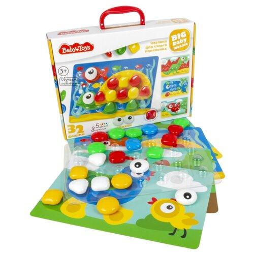 Купить Десятое королевство Baby Toys Мозаика для самых маленьких 32 элемента (02522)