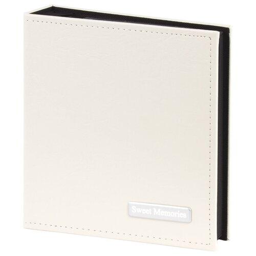 Фотоальбом BRAUBERG обложка под гладкую кожу, бокс (391115), 200 фото, для формата 10 х 15, белый
