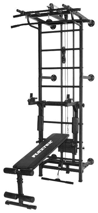 Шведская стенка с навесным оборудованием Формула здоровья Крафт SystemLight 3в1 Flexter