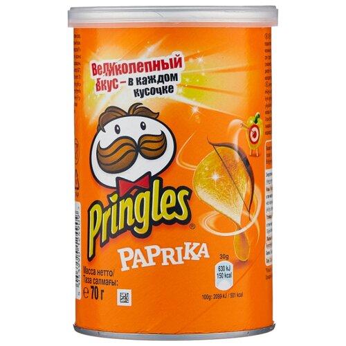 Чипсы Pringles картофельные Paprika, 70 г