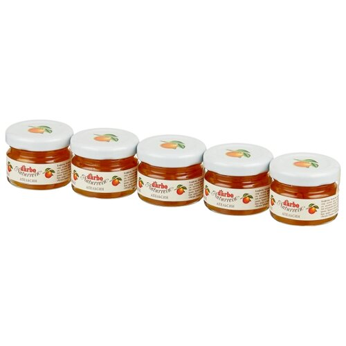Конфитюр D'arbo All Natural Апельсин, 5 шт. 28 г