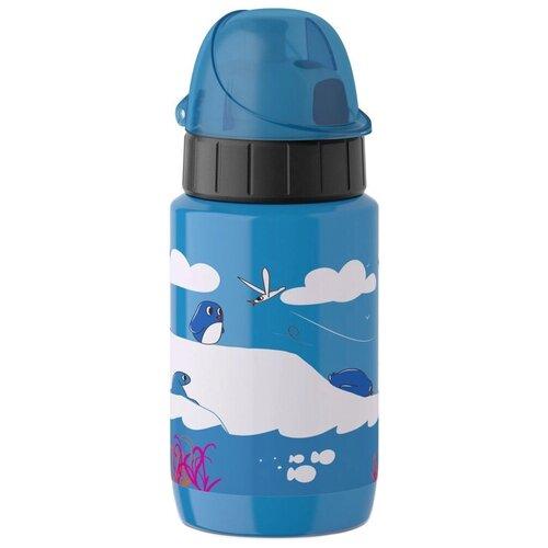 Термос-фляга EMSA Пингвин 518359, 0.4 л синий