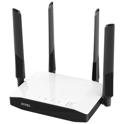 Wi-Fi роутер ZYXEL NBG6604, черно-белый