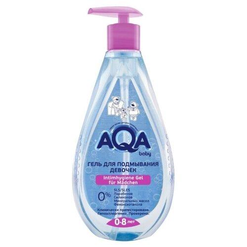Купить AQA baby Гель для подмывания девочек 250 мл, Средства для купания