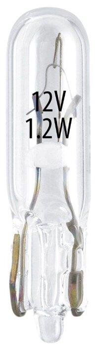 Лампа автомобильная накаливания GOODYEAR W1.2W 12V 1.2W 10 шт.