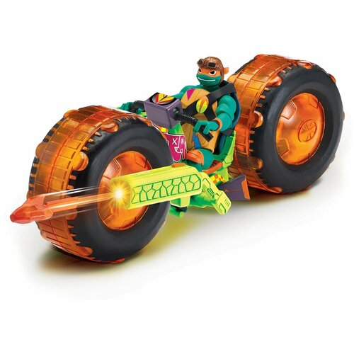 Фигурка Playmates TOYS ROTMNT Мотоцикл с фигуркой Майки 82483