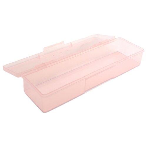 TNL Professional Пластиковый контейнер прямоугольный прозрачно-розовый