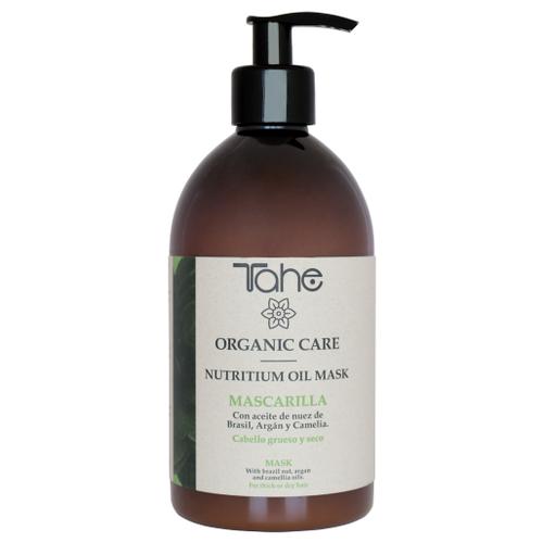 Tahe Organic Care Nutritium Oil Питательная маска для густых и сухих волос, 500 мл organic oil маска для всех