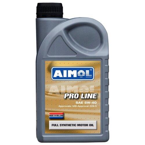 Полусинтетическое моторное масло Aimol Pro Line 5W-40, 1 л полусинтетическое моторное масло aimol streetline 10w 40 1 л
