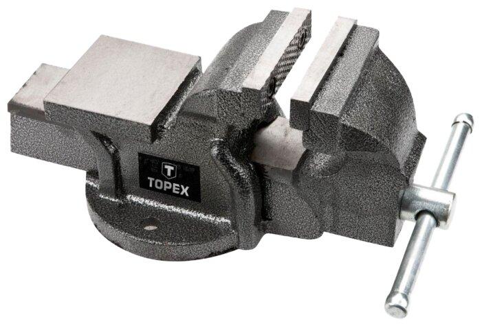 Тиски TOPEX 07A110 100 мм — купить по выгодной цене на Яндекс.Маркете