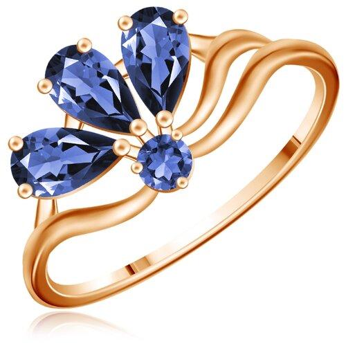 Бронницкий Ювелир Кольцо из красного золота Д0268-714595, размер 16 бронницкий ювелир кольцо из красного золота д0268 017060 размер 17