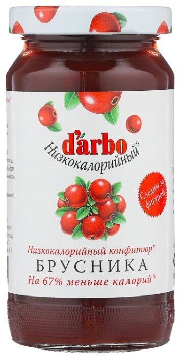Конфитюр DARBO Брусника низкокалорийный, 220 г
