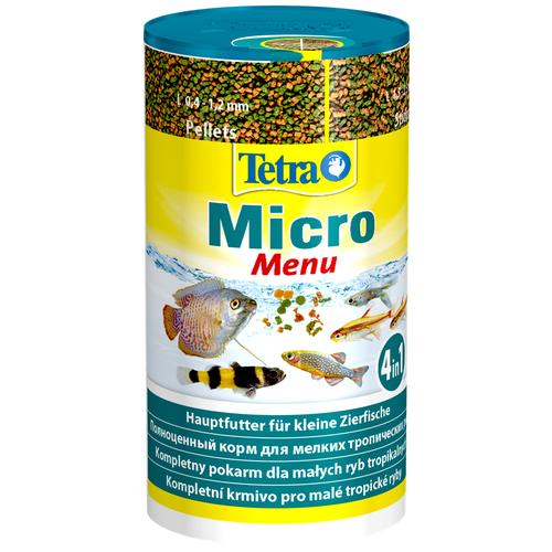 Сухой корм для рыб Tetra Micro Menu