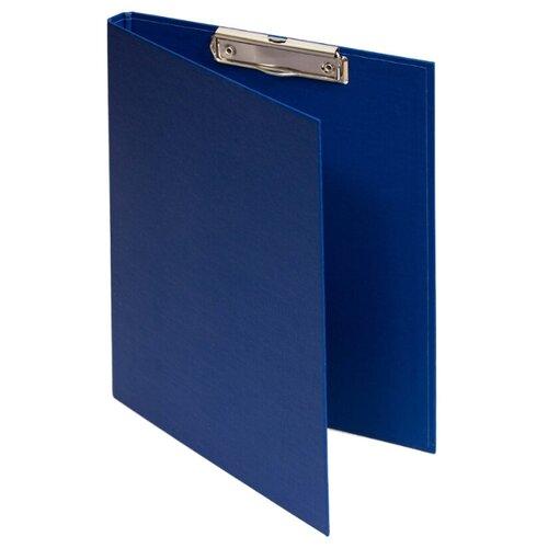 Купить OfficeSpace Папка-планшет с зажимом А4, бумвинил синий, Файлы и папки