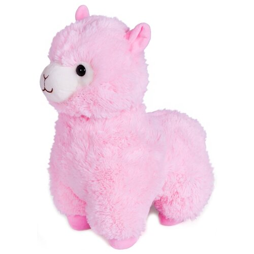 Мягкая игрушка Fancy Гламурная Альпака розовая 28 см мягкая игрушка fancy гламурная альпака белая 31 см