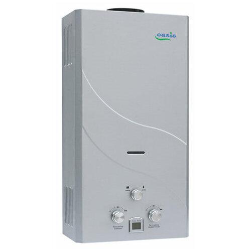 Проточный газовый водонагреватель Oasis 16 кВт сталь oasis ek 10