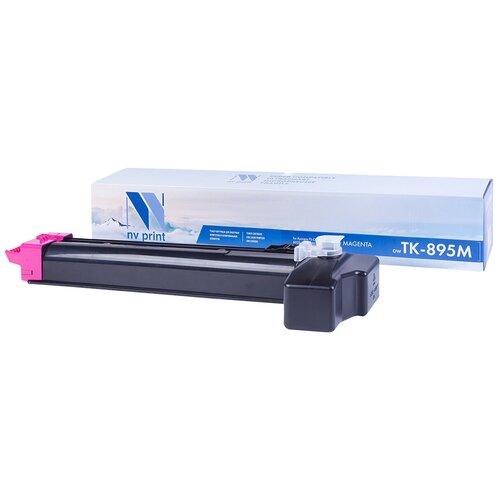 Фото - Картридж NV Print TK-895 Magenta для Kyocera, совместимый картридж nv print tk 895 yellow для kyocera совместимый