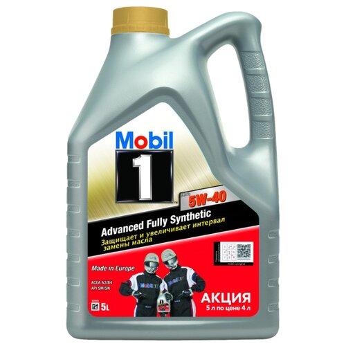 Моторное масло MOBIL 1 FS X1 5W-40 5 л моторное масло mobil 1 fs x1 5w 50 20 л