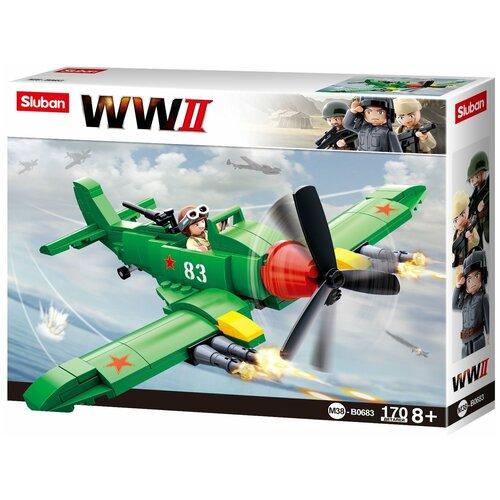 Конструктор SLUBAN WW2 M38-B0683 Штурмовик конструктор sluban ww2 m38 b0682 газ 67