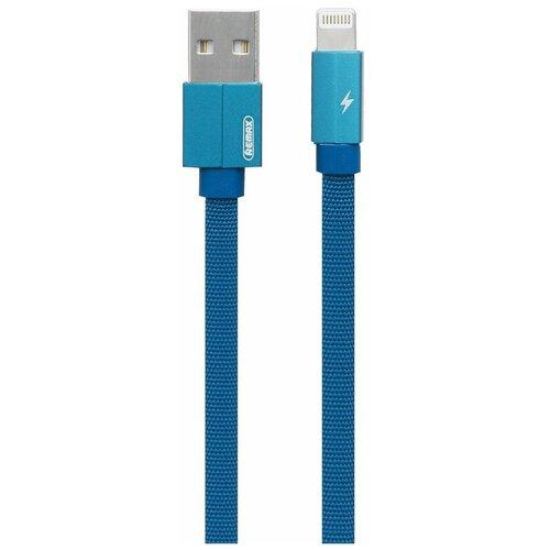 Кабель Remax Kerolla USB - Apple Lightning (RC-094i) 1 м, синий кабель remax kerolla usb usb type c rc 094a 1 м черный