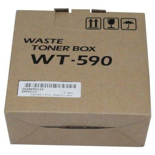 Фото - Бункер отработанного тонера Kyocera WT-590 (2KV93110) бункер отработанного тонера wt 590