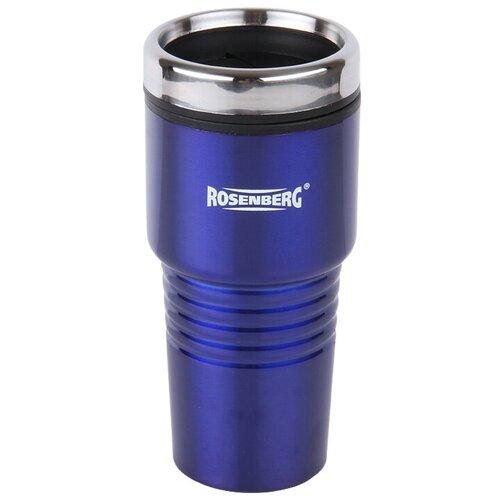 Термокружка ROSENBERG RSS-415001-B, 0.48 л синий классический термос rosenberg rss 420101 1 5 л синий