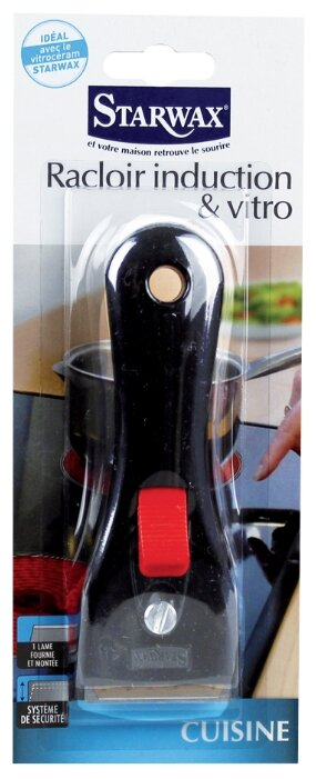 Скребок Starwax для чистки стеклокерамической и индукционной плиты