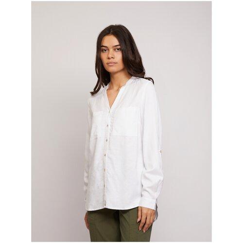 Блуза Zolla, размер XXXL, 01 Optic White (Белый)