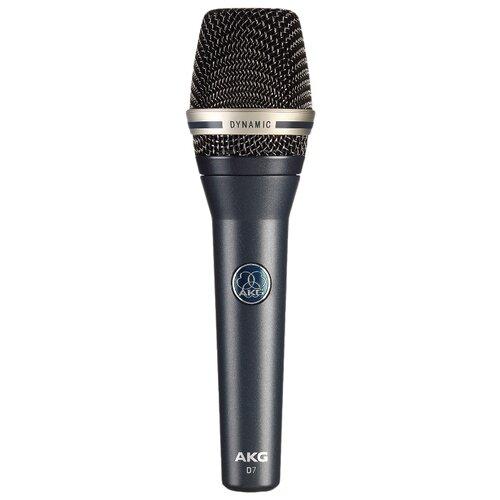 Микрофон AKG D7 синий профессиональные студийные наушники akg k240 studio 2058x00130