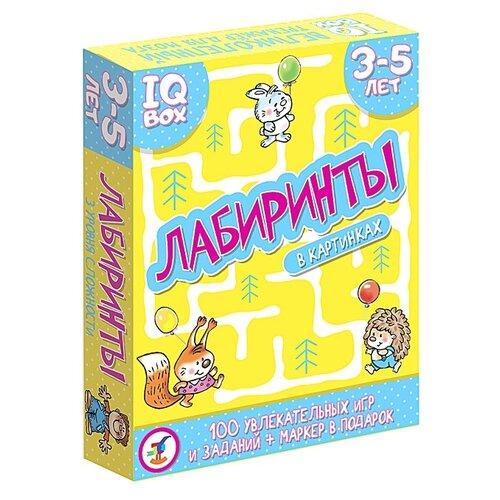 Купить Настольная игра Дрофа-Медиа IQ Box. Лабиринты. 3-5 лет, Настольные игры