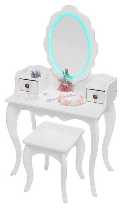 Туалетный столик SunnyWoods для девочек Принцесса Эльза с подсветкой (Elsa11114)